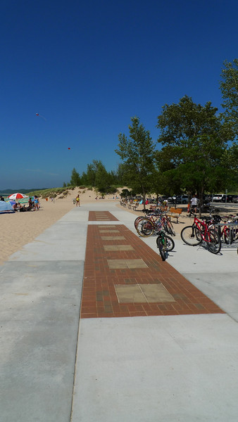 Memorial brickway at pentwater