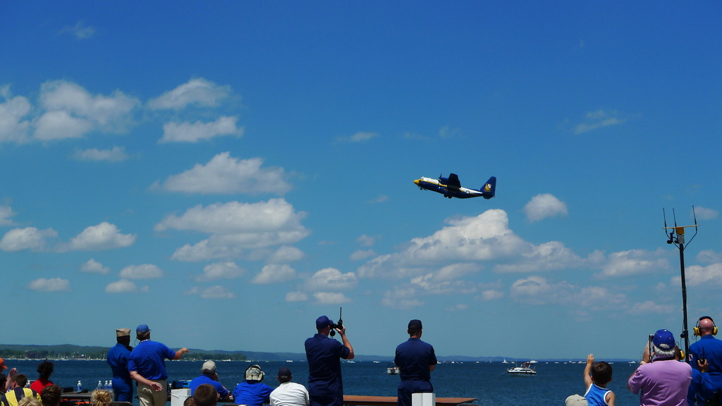 Fat Albert, the blue angels support plane