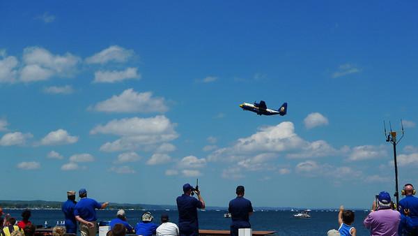 Fat Albert, the blue angels support plane