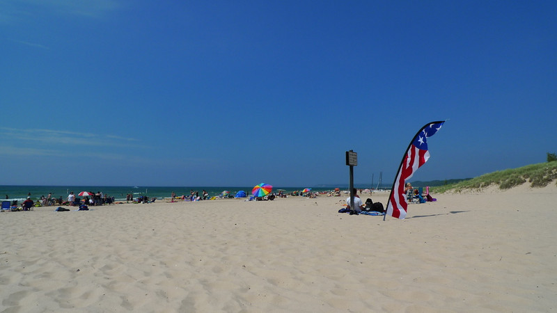 Pentwater, the best beach in the world.