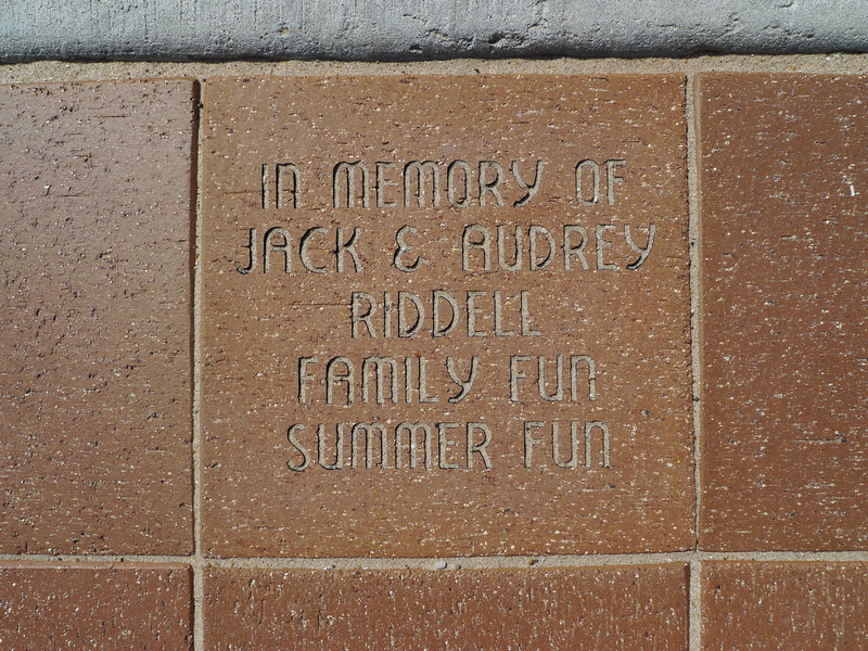 A plaque in memorial of my grandparents that was placed this year. My mom went to Pentwater while she was growing up and it became a tradition when I was a kid. It's a really special place for our family with lots of good memories.