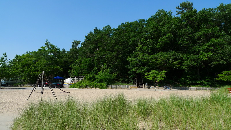 The campground at Pentwater