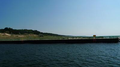 On the breakwater