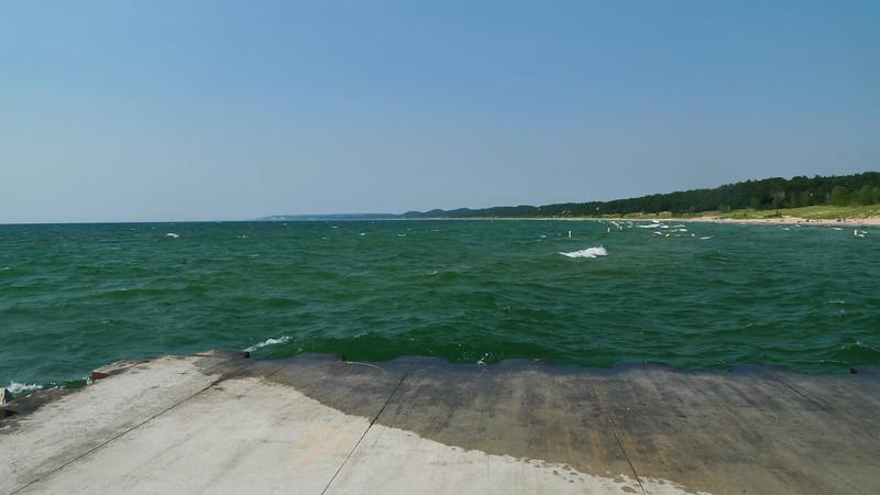 Lake Michigan. Ahhh.