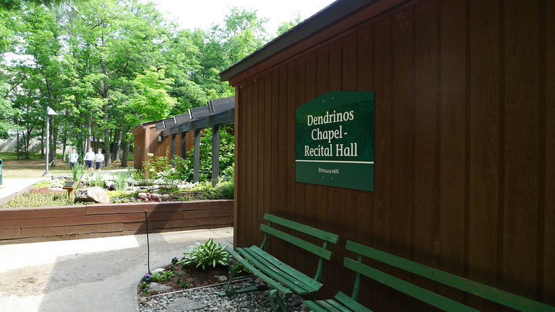 One morning we stopped by Interlochen, a place where I spent a lot of time in High School (as a camper) and college (as a staff member)