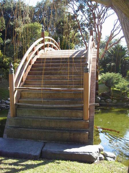Bridge at the Japanese Gardens