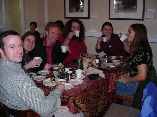 Pinkies Up!<br /> <br /> The English Tea Room at the Huntington Gardens