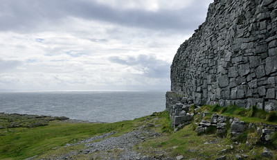Dún Aenghus, an ancient fort on Inishmore.
