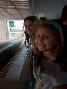 Waiting for the monorail