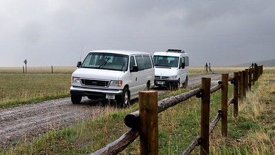 Our vans  Copyright (C) 2008 Doug Wieringa