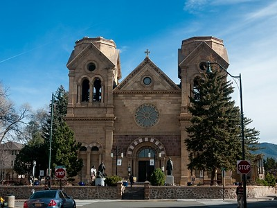 The Cathedral Basilica of St. Francis of Assisi in Santa Fe