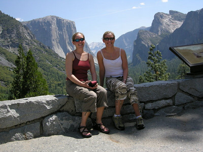 Me and Maggie at Tunnel View