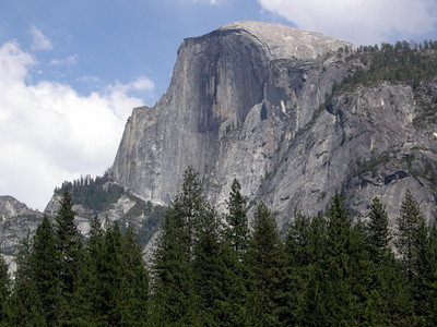 Half Dome from the Valley