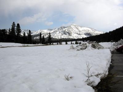Mammoth Peak and snow