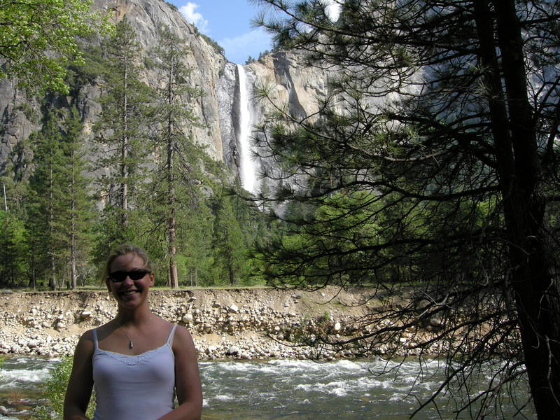 Maggie and Bridalveil falls