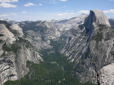 Half Dome and Tenaya Canyon from Glacier Point