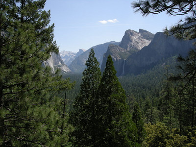 The valley from Tunnel View