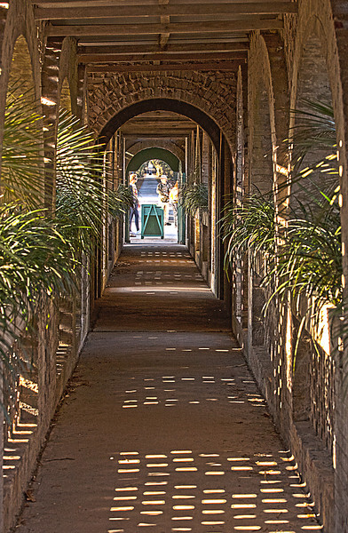 Covered Walkway - Atalaya Castle, Huntington Beach State Park, SC