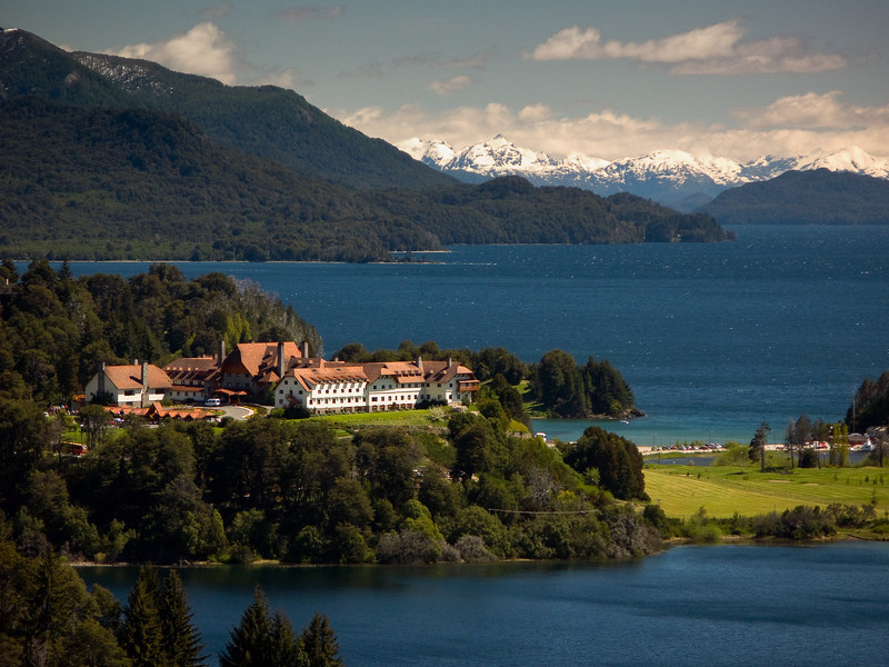 World famous Llao Llao resort near Bariloche (Argentina / northern Patagonia)