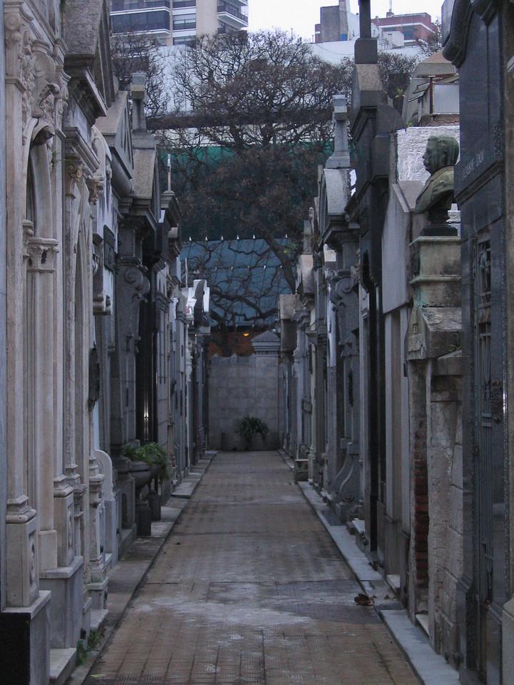 Recoleta Cemetary, where Evita is buried