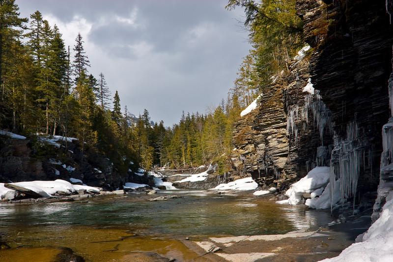 McDonald Falls, Glacier National Park