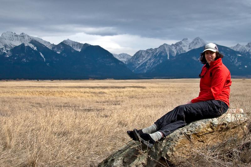 Mona at Ninepipe National Wildlife Refuge