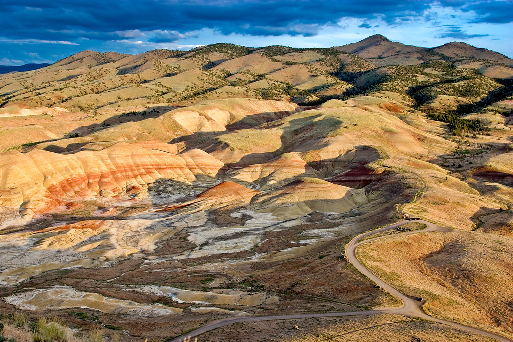 The Painted Hills - John Day Fossil Beds, Oregon