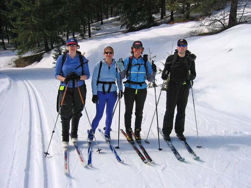 Skiing Trails in the Methow Valley