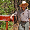 Granddad hiking near Pinetop, AZ. Summer 2007. Close to 87 years old!