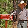 Granddad hiking near Pinetop, AZ. Summer 2007. Close to 87 years old!