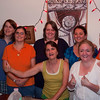 Marie G., Kathy B., Connie S., Dana D. (front), Judy L., Barbara C., Betsy Ba.