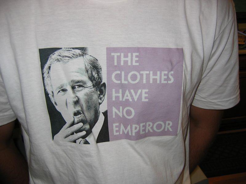 a close up of Steve's shirt,
