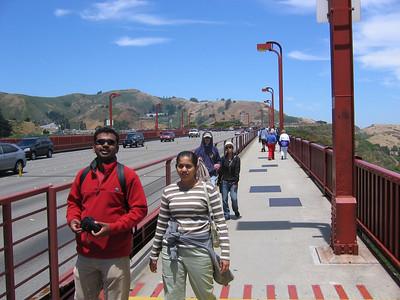 Walking Across Golden Gate Bridge 7/4/2006