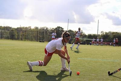 Sheridan Devito preparing to pass the ball