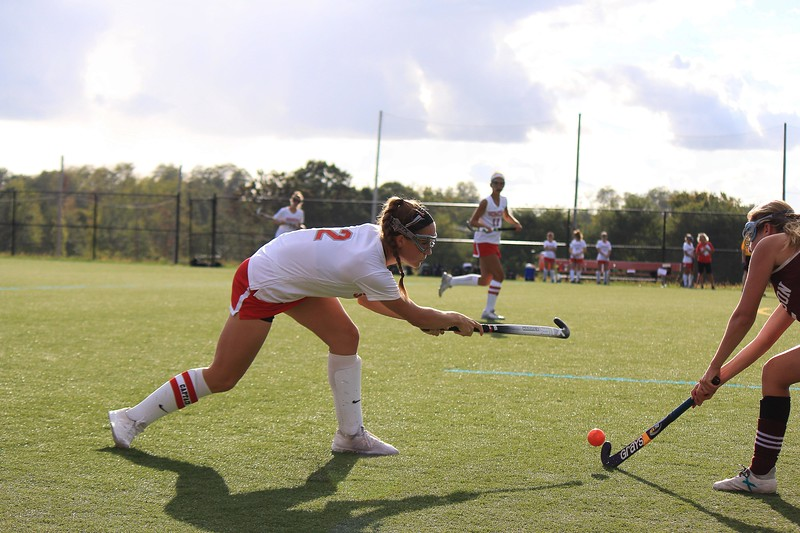 Sheridan Devito passing the ball