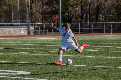 Sergio Spiniello Kicking to his teammates