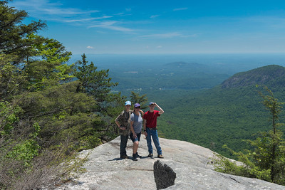 Hike today on Shumont Mountain with Friends of Chimney Rock-28