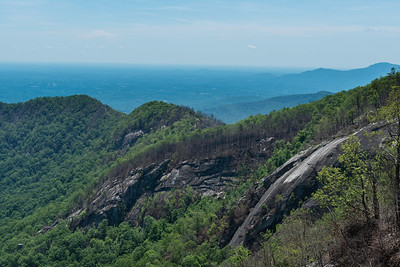 Hike today on Shumont Mountain with Friends of Chimney Rock-29