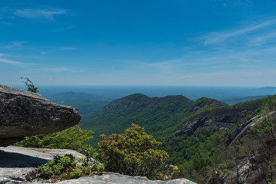 Hike today on Shumont Mountain with Friends of Chimney Rock-27