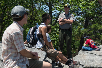 Hike today on Shumont Mountain with Friends of Chimney Rock-26