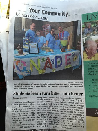Friends of Down Syndrome in the News!