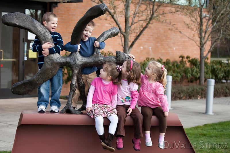 199 Kids Statue in Color-11