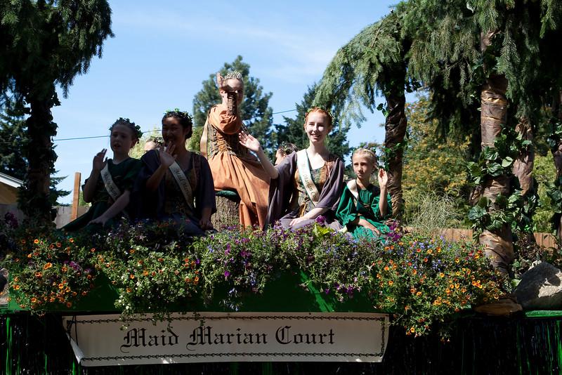 Sherwood Robin Hood Parade 2009-10