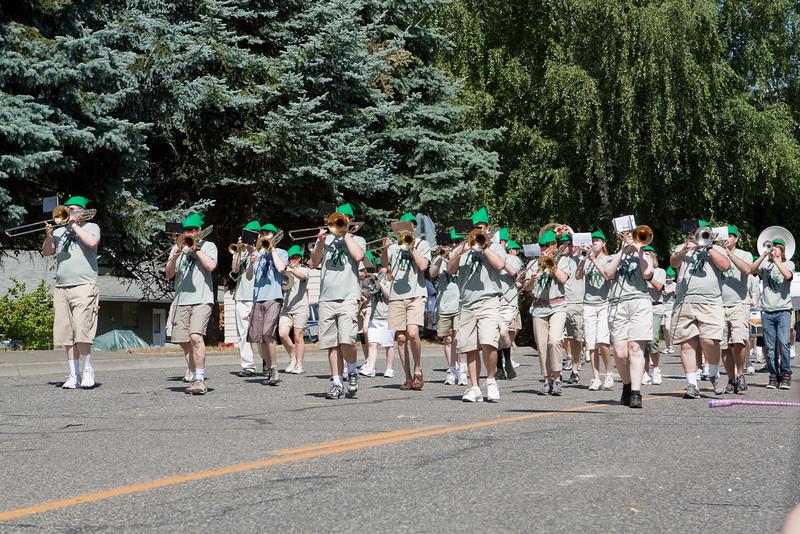 Sherwood Robin Hood Parade 2009-90