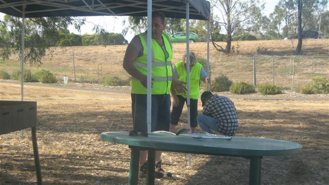 FoTC Bush Fire BBQ Cleanup Australia Melton South Primary