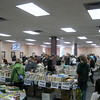 The annual book & bake sale is a community event.