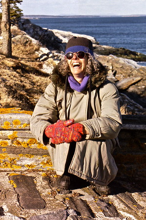 03.04.06 Cathryn Wilson at Pemaquid Point Lighthouse