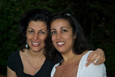 Mitra and Natasha Javanmardi