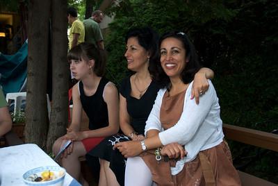 Adriana, Mitra and Natasha