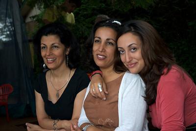 Mitra, Natasha and Amelia